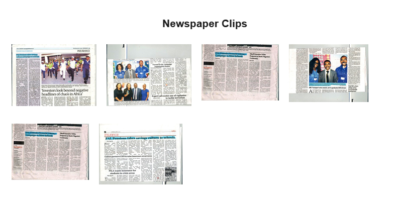Newspaper Clips